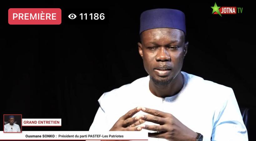 Grand Entretien: Ousmane Sonko accule Macky appelle les jeunes à aller s'inscrire sur les listes électorales