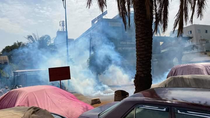 Bamako : des manifestants contre les coupures d'électricité dispersés à coup de lacrymogènes