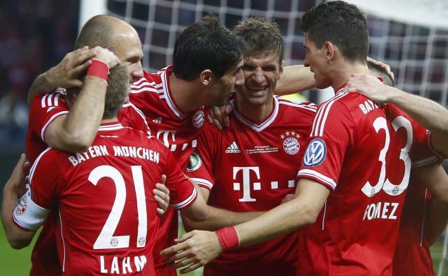 Le Bayern triplement géant !