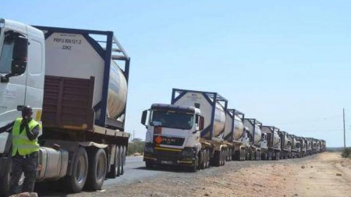 Transport d'hydrocarbures: les chauffeurs accentuent la pression et rejettent les propositions des autorités