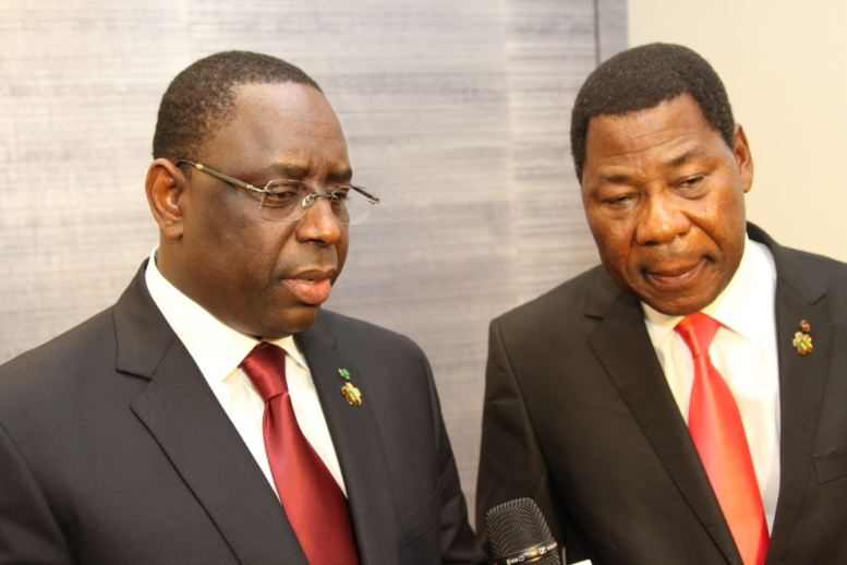 Echanges Macky Sall-Yayi Boni : nouveaux axes de coopération