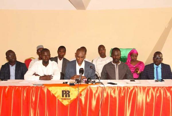 Le Parti de la Réforme se réjouit du Conseil présidentiel et demande une diligence dans le traitement des dossiers