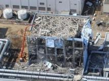 Vue aérienne de la station de Fukushima Daiichi, au Japon, le 24 mars 2011.