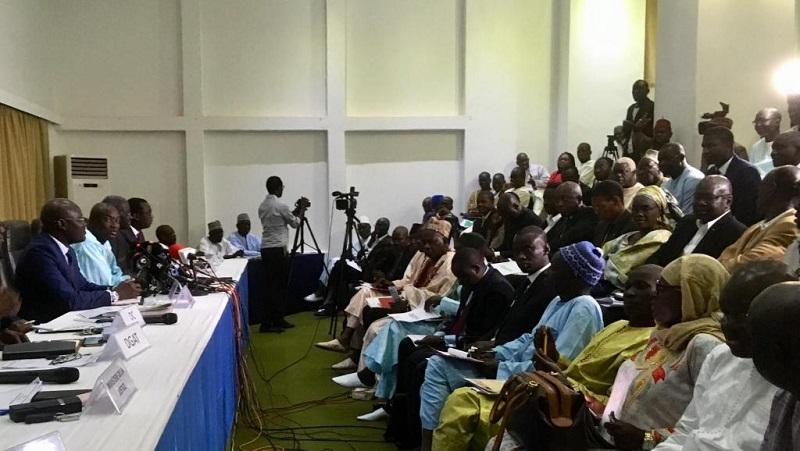 Dialogue politique : le rapport provisoire de l'audit du fichier remis aux parties prenantes