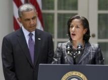 Susan Rice et Barack Obama, le 5 juin 2013. REUTERS/Joshua Roberts