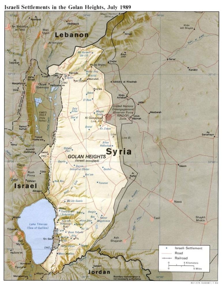 Golan : incidents signalés par l'ONU à la frontière entre la Syrie et Israël