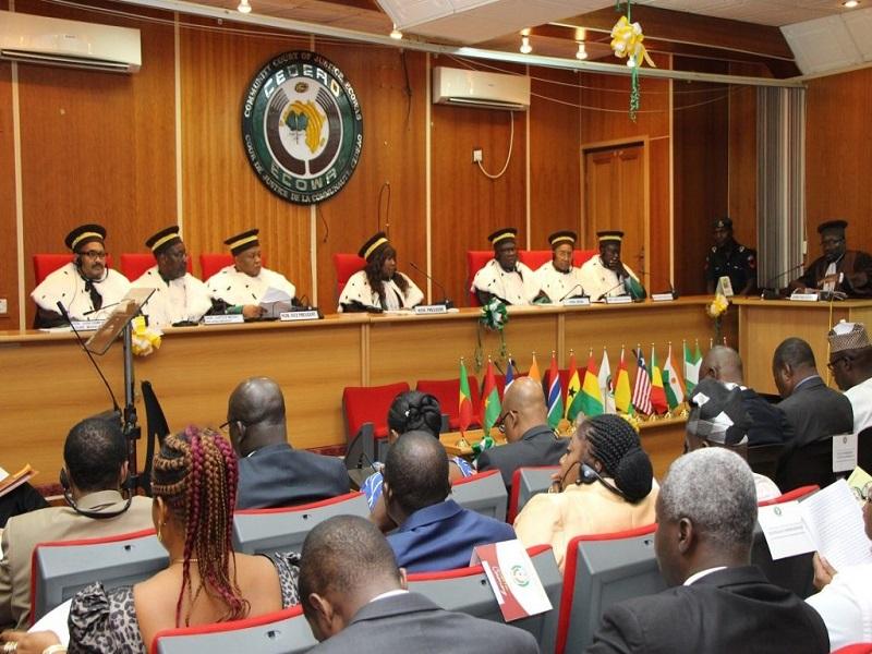 La Cour de justice de la CEDEAO ordonne à l'Etat du Sénégal de supprimer la loi sur le parrainage
