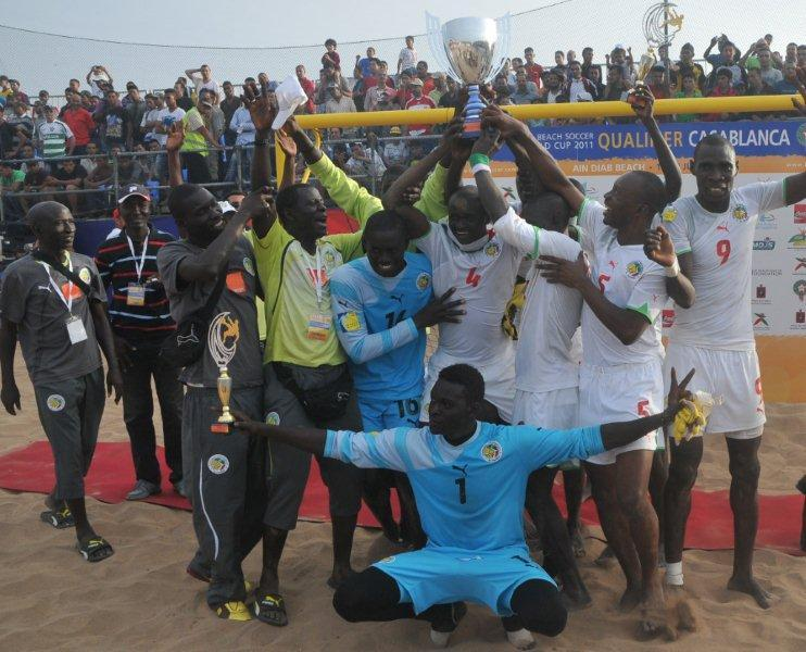 Beach Soccer-Mondial Papeete du 18-28 septembre: les « Lions » connaissent leurs adversaires