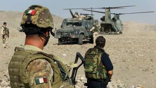 Afghanistan: un militaire italien tué, trois blessés dans une attaque