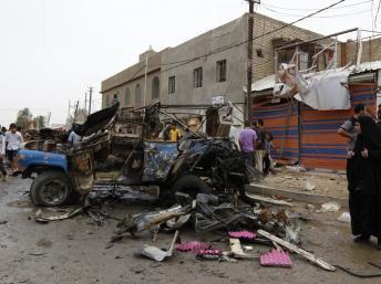 Irak: série d'attentats sur un marché de la province de Diyala