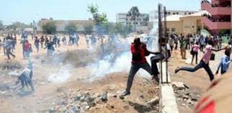 Diohine : 14 blessés et 39 interpellations lors des affrontements entre populations et forces de l'ordre