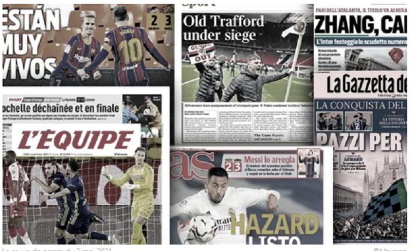 L'Angleterre choquée par les incidents à Old Trafford, l'Italie totalement sous le charme du titre de l'Inter