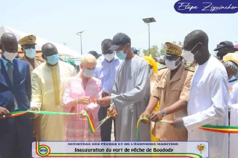 Alioune Ndoye inaugure le port de pêche de Boudody d'un coût global de 2,6 milliards FCFA