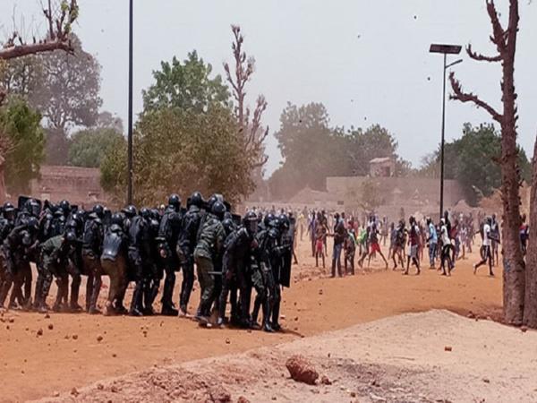 Diohine : Un décès annoncé après de violentes manifestations entre populations et forces de l'ordre