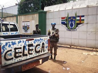Des rebelles de la Seleka en Centrafrique. REUTERS/Ange Aboa