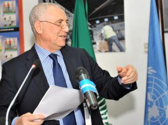 Le médiateur Saïd Djinnit en juin 2012. AFP PHOTO / SIA KAMBOU