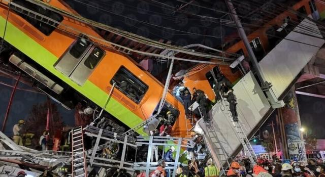 Mexique: plusieurs victimes dans un accident du métro de Mexico, le bilan revu à la hausse