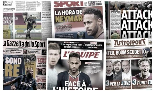 L'annonce retentissante de la presse portugaise sur l'avenir de Cr7, la Premier League riposte contre les séparatistes de la Super League