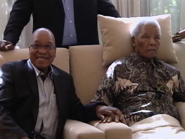 Afrique du Sud: Confiant, Jacob Zuma estime que «Mandela est un battant»