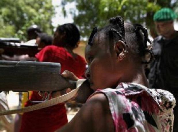 D'après l'ONU, tous les groupes armés au Mali emploient des enfants soldats. REUTERS/Emmanuel Braun