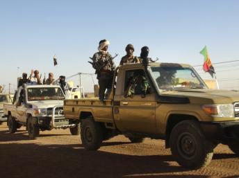 Soldats du MNLA à Kidal le 4 février 2013. REUTERS/Cheick Diouara