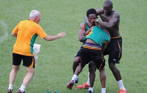 Côte d'Ivoire: Razak et Gosso se bagarrent en pleine séance d'entrainement
