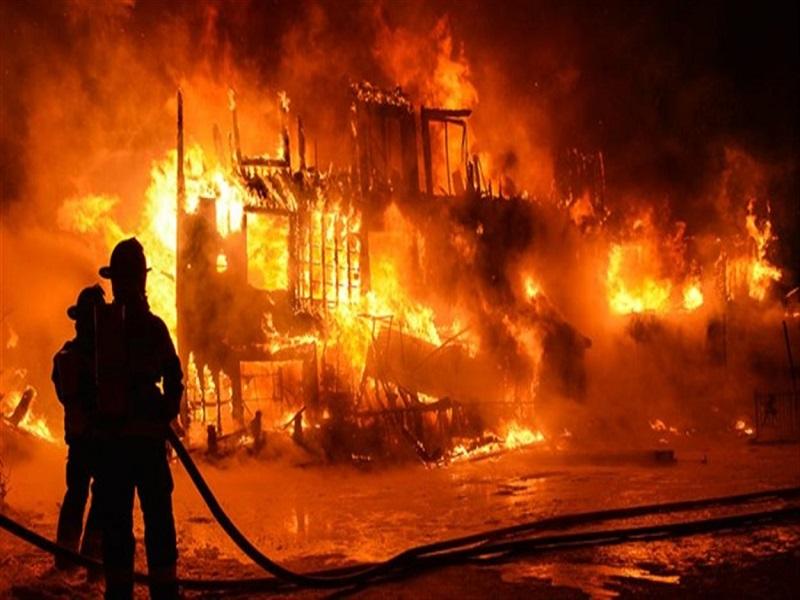 Incendie au marché Boubess de Guédiawaye : Des pertes estimées à plusieurs centaines de millions de FCfa
