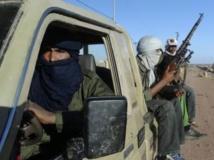 Groupe de combattants du MNLA dans la région de Kidal, le 4 février 2013.