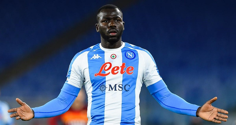 Naples: Barcelone, Manchester United et Manchester City lorgnent Kalidou Koulibaly