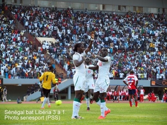 Football-Statistiques du match de cet après-midi: Le Libéria n'a jamais battu le Sénégal depuis 1967