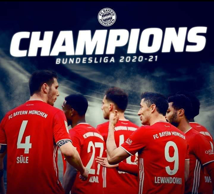 Bundesliga : le Bayern Munich remporte son neuvième titre d'affilée