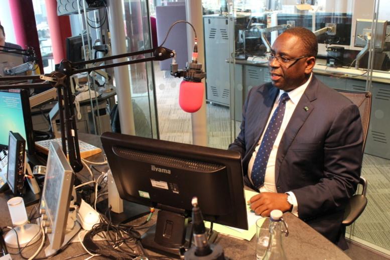 """Macky Sall depuis Londres: """"Ce    qui     se      passe  au      Mali   est     impensable   au Sénégal"""""""