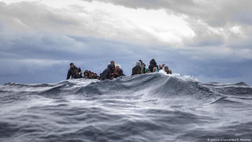 Une embarcation de migrants chavire au large de la Libye, plus de 20 morts présumés