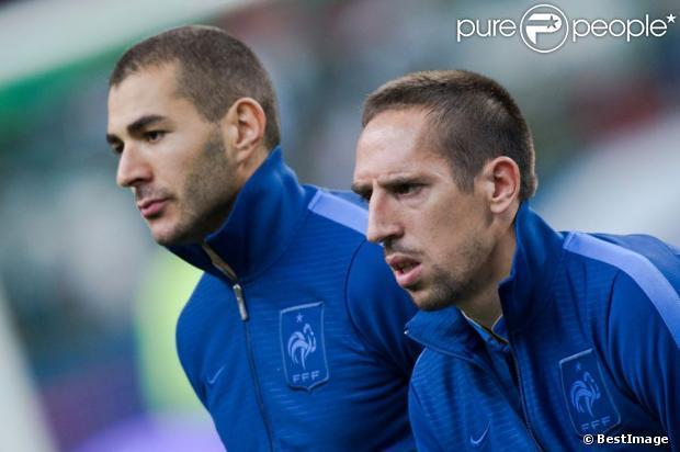 Franck Ribéry et Karim Benzema: des terrains de foot au terrain judiciaire