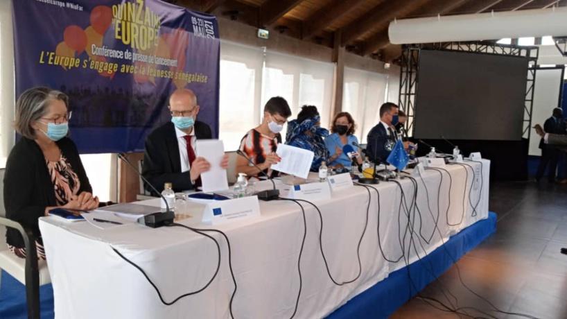 Éducation, formation, l'emploi: l'UE lance la campagne «Tekki Fi» pour les jeunes sénégalais