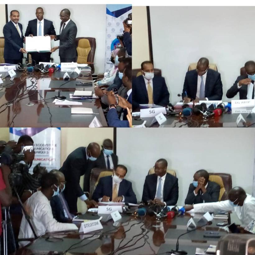 Signature du cahier des charges: Expresso obtient la licence 4G