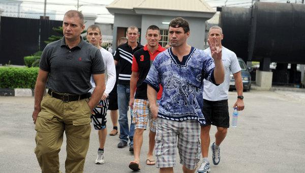 Nigeria: huit des 15 marins russes arrêtés en octobre disculpés