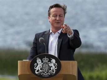 G8: pour l'hôte du sommet, David Cameron, le succès de Lough Erne reste mitigé