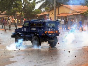 Guinée: nouveaux heurts entre militants de l'opposition et forces de l'ordre