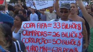 Brésil: 800 000 manifestants à travers le pays, 300 000 à Rio