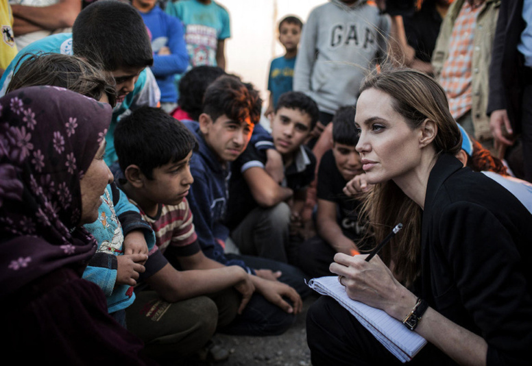 Angelina JOLIE s'engage pour la Syrie