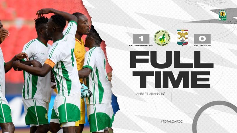 Coupe CAF: en infériorité numérique, le Jaraaf s'incline contre le Coton Sport