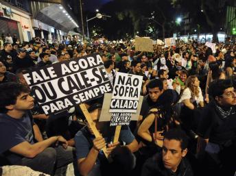 Au Brésil, Dilma Rousseff n'a pas convaincu et les contestataires ne désarment pas