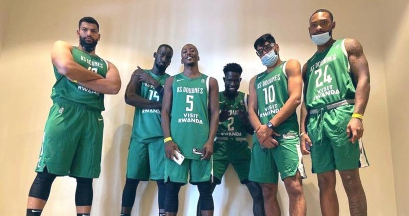 Basketball Africa League:  l'As Douane s'impose face au GS Pétroliers
