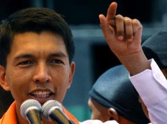 Le président de la Transition, Andry Rajoelina Reuters