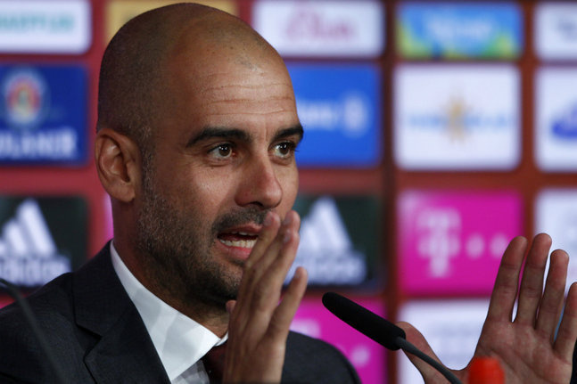 présentation officielle avec le Bayern Munich: Guardiola humble et séduisant