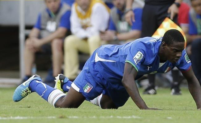 Italie-Coupe des Confédérations: Balotelli forfait contre l'Espagne