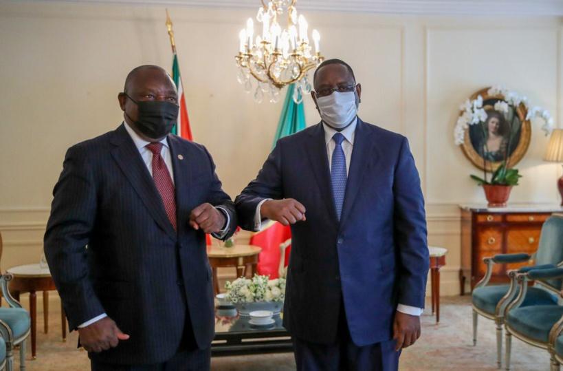 """Macky annonce une """"convergence de vues avec l'Afrique du Sud"""" pour la production de vaccins anti covid_19"""
