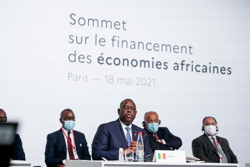 Macky Sall évoque les conditions de la réussite du sommet de Paris