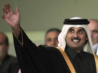 Le cheikh Tamim ben Hamed al-Thani en décembre 2011 à Doha. REUTERS/Fadi Al-Assaad/File